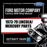 1973-79 Lincoln Mercury PARTS - CD