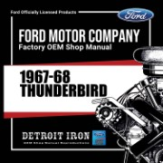 1967-68 Thunderbird - CD