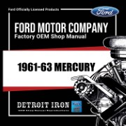 1961-63 Mercury - CD