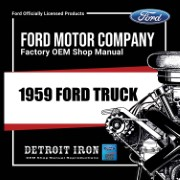 1959 Ford Truck - CD