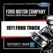 1971 Ford Truck - CD