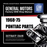 1968-75 Pontiac PARTS -CD