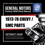 1973-78 Chevy Truck PARTS - CD