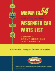 1946-1954 Mopar Parts Catalog