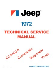 1972 Jeep Shop Manual