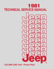 1981 Jeep Shop Manual