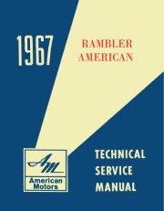 1967 AMC American Technical Service Manual