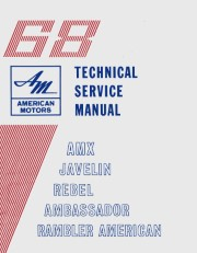 1968 AMC Shop Manual