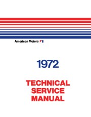 1972 AMC Shop Manual