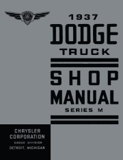 1937 Dodge Truck Shop Manual - Series M