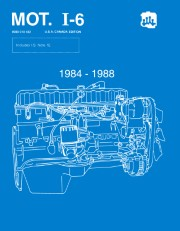 1984 - 1988  Jeep MOT I-6 Engine Component Service Manual