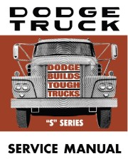 1963 Dodge Truck S Series Shop Manual