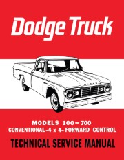 1965 Dodge Truck 100-700 Shop Manual