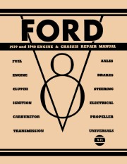 1939 - 1940 Ford, Mercury V8 Engine Repair Manual
