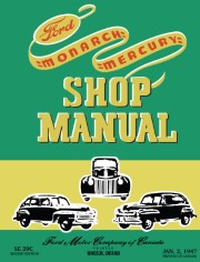 1939 - 1948 Ford & Mercury Shop Manual