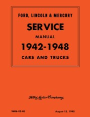 1942 - 1948 Ford, Lincoln, Mercury Service Manual