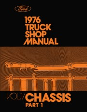 1976 Ford Truck Shop Manual - 5 Volumes