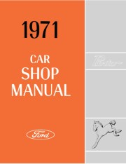 1971 Ford Pinto Shop Manual