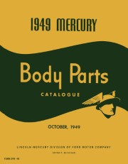 1949 Mercury Body Parts Catalog