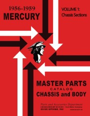 1956 - 1959 Mercury Master Parts Catalog