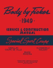 1949 Fisher Body Special Sport Coupe Service Manual