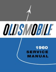 1960 Oldsmobile Shop Manual