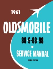 1961 Oldsmobile Service Manual - 88, S-88, 98