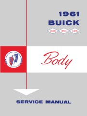1961 Buick Body Service Manual
