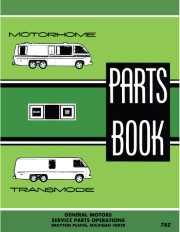 1973 - 1978 GMC Motorhome Parts Catalog / Book