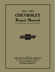 1915 - 1924 Chevrolet Car, Truck Shop Manual - 2nd Edition