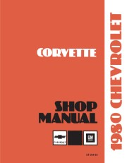 1980 Chevrolet Corvette Shop Manual