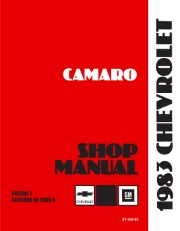 1983 Chevrolet Camaro Shop Manual