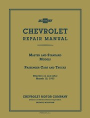 1933 Chevrolet Shop Manual