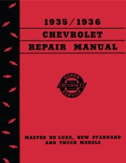 1935 - 1936 Chevrolet Shop Manual
