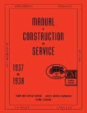 1937 - 1938 Fisher Body Shop Manual