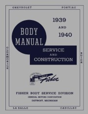 1939 - 1940 Fisher Body Shop Manual