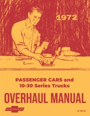 1972 Chevy Chassis Overhaul Manual
