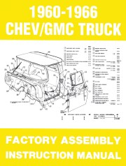 1960 - 1966 Chevrolet / GMC Truck Assembly Manual