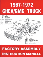 1967 - 1972 Chevrolet / GMC Truck Assembly Manual