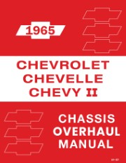 1965 Chevrolet Chassis Overhaul Manual