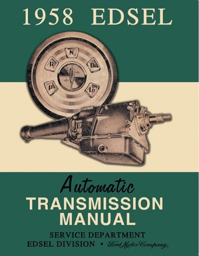 1958 Edsel Transmission Manual