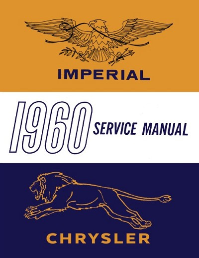 1960 Chrysler Imperial Service Manual