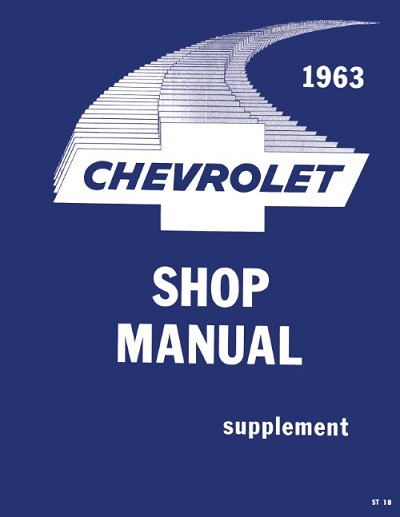 1963 Chevrolet Passenger Car Shop Manual Supplement