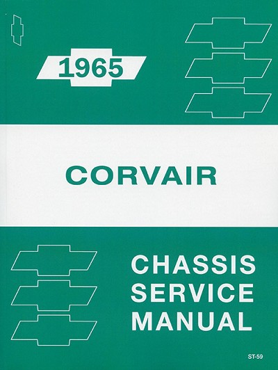 1965 Chevy Corvair Chassis Service Manual
