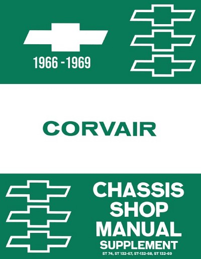 1966 - 1969 Chevy Corvair Shop Manual Supplements