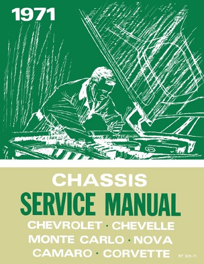 1971 Chevrolet Car Chassis Service Manual