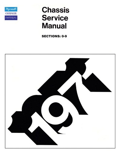 1971 Plymouth and Chrysler Chassis Service Manual