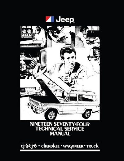 1974 Jeep Technical Service Manual