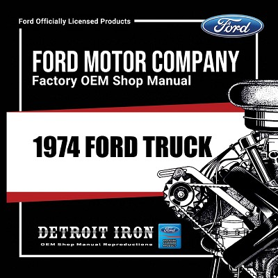 1974 Ford Truck - CD
