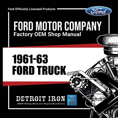 1961-63 Ford Truck - CD